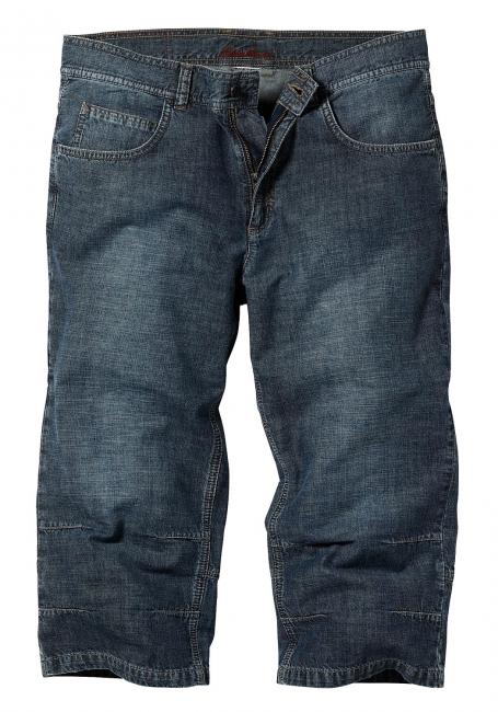 7/8-Jeans mit Knieabnäher