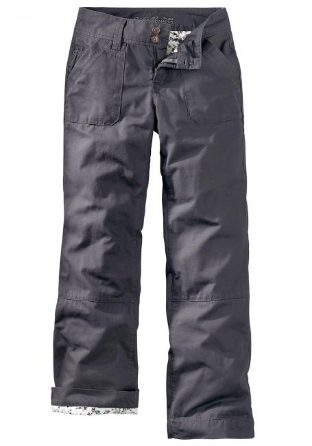 Trouser Leg Canvashose mit Flanell