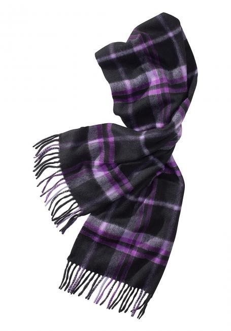 Woll-Schal mit Kaschmir