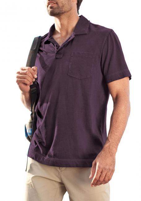 Poloshirt gestreift