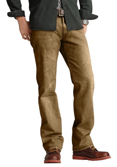 Garngefärbte Five Pocket Jeans
