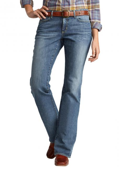 Stayshape Bootcut-Jeans - Curvy