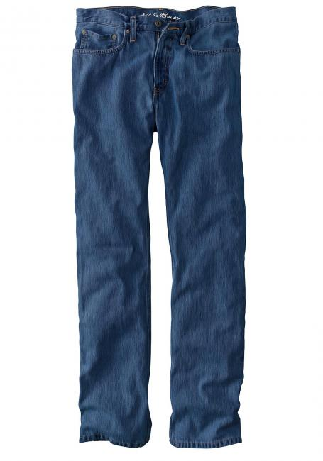 Sommer-Denim Jeans Straight Fit