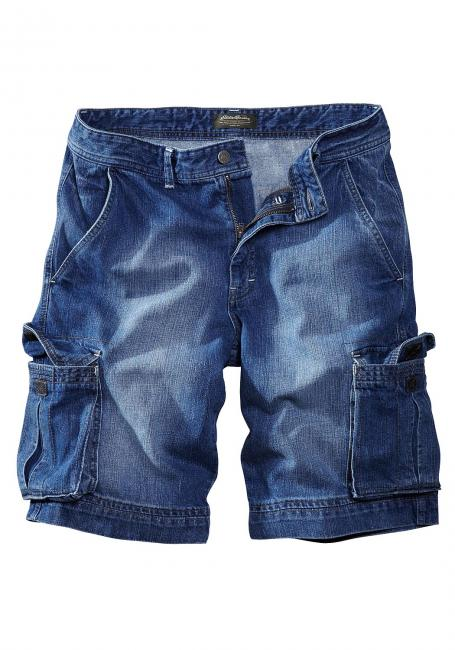 Denim-Cargoshorts