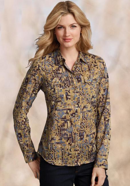 Bluse bedruckt