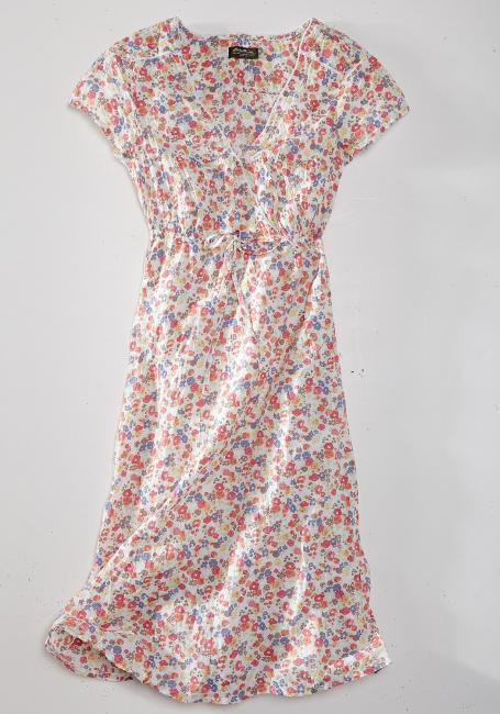 Crinkle-Kleid
