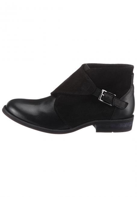 Leder-Schuh