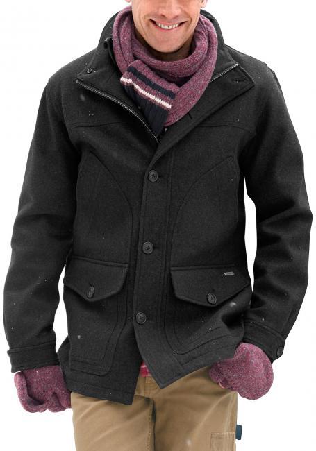 Winterparka mit Wolle