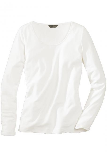 Basic-Rundhalsshirt
