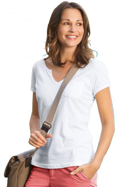 T-Shirt mit Knöpfchen