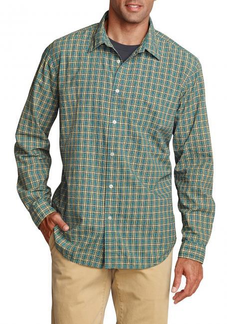 Seersuckerhemd mit Langarm Sale Angebote Kröppen