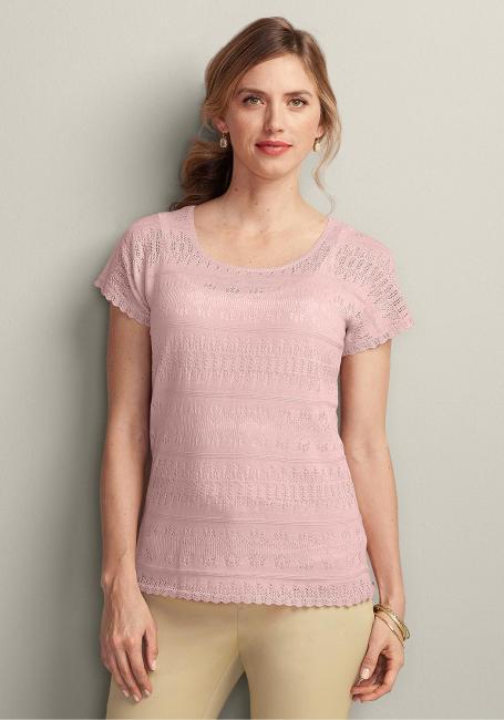 Pullover mit Kurzarm