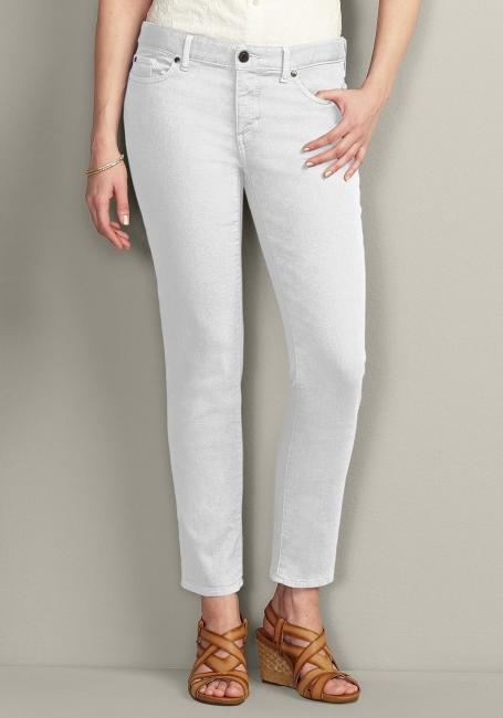 Slim Leg Colored Jeans
