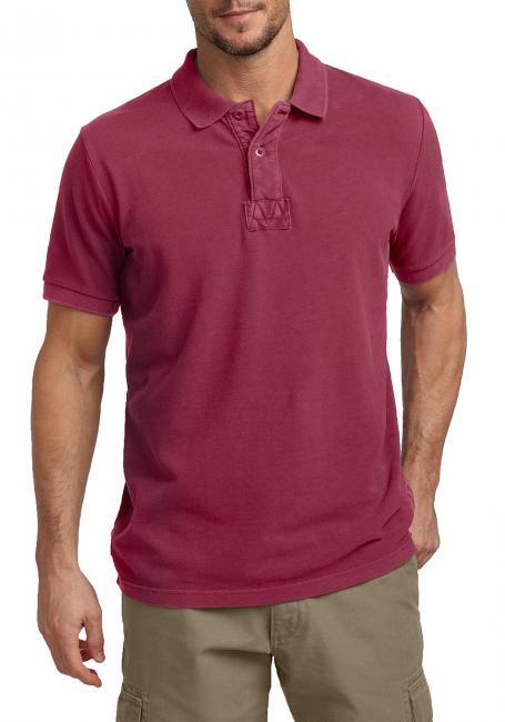 Neiße-Malxetal Angebote Pigment-Piqué-Poloshirt