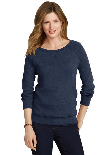 Sweatshirt mit Rundhals