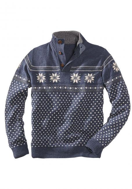 Pullover gemustert