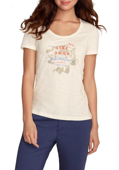 Slub-Logoshirt