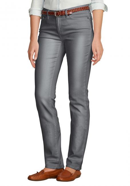 Straight Leg Jeans - Slightly Curvy