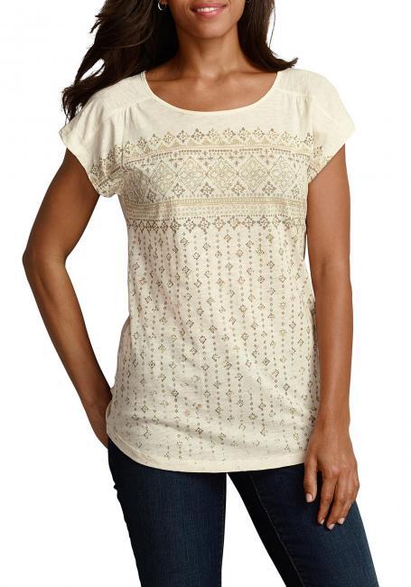 T-Shirt mit Vintage-Druck