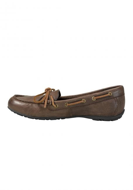 Leather Moc Slipper