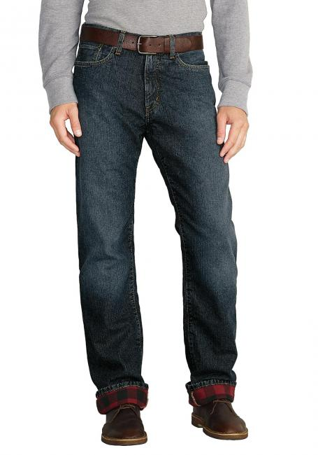 Authentic Jeans mit Flanellfutter - Relaxed Fit
