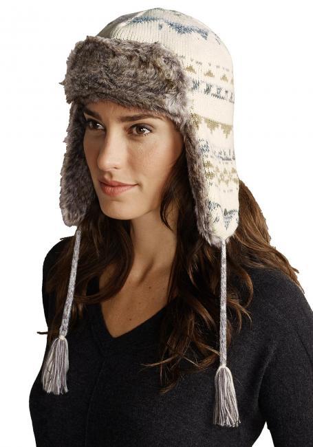 Mütze mit Pelzimitat