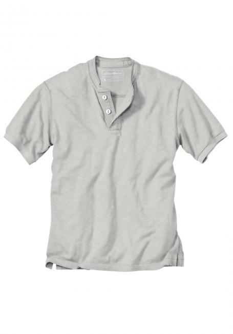 Pigment Wash-Henleyshirt