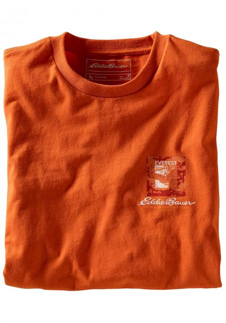T-Shirt Everest Routes