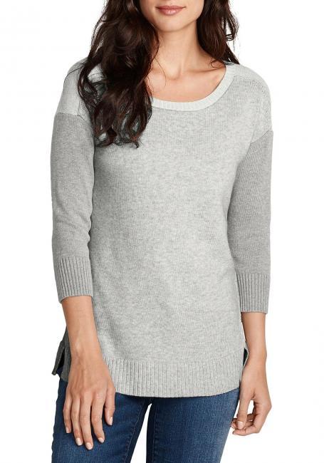Pullover mit Kontrast