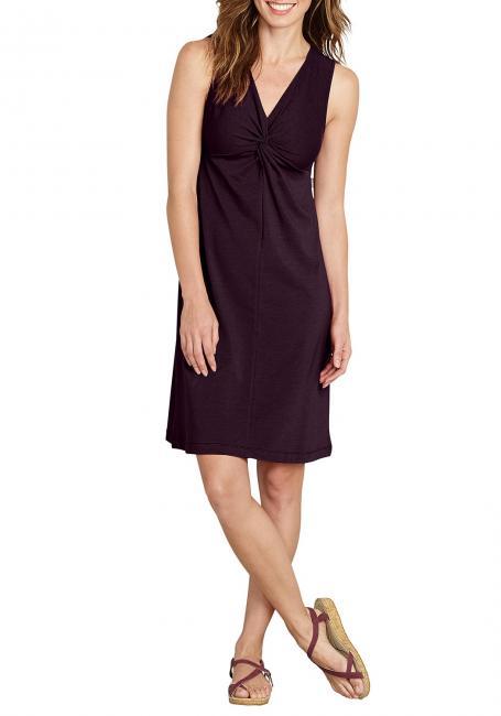 Kleid mit gedrehter Front