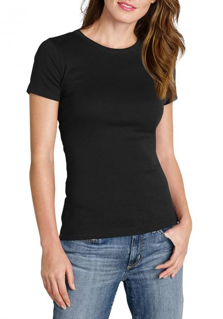 Basic-Shirt mit Rundhalsausschnitt