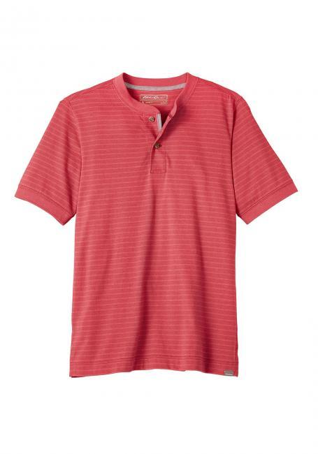 Henleyshirt gestreift