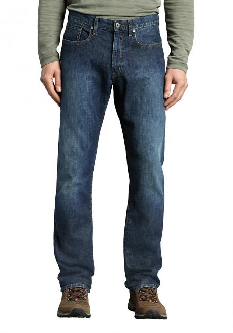 Straight Leg Jeans mit Stretch