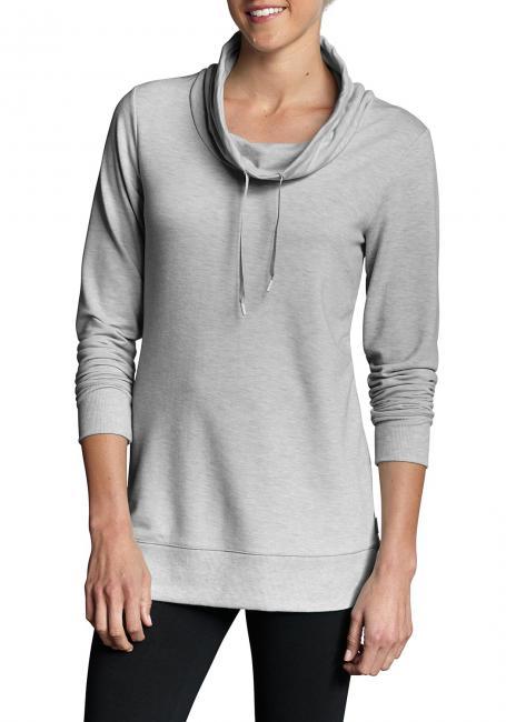 Sweatshirt mit Schlauchkragen