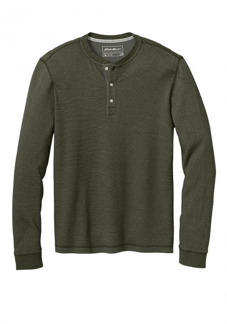 Henleyshirt in besonderer Optik