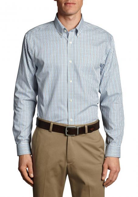 Oxfordhemden - Slim Fit, langärmlig - Blautöne