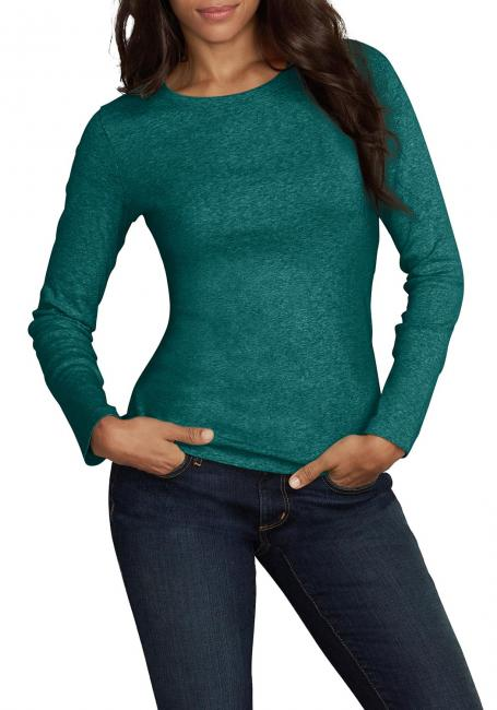 Favorite Shirt - Langarm mit Rundhalsauschnitt - Uni