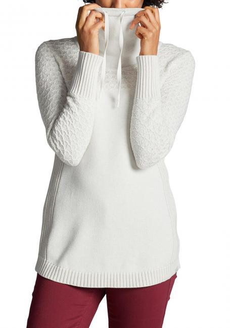 Pullover mit Fangmaschen