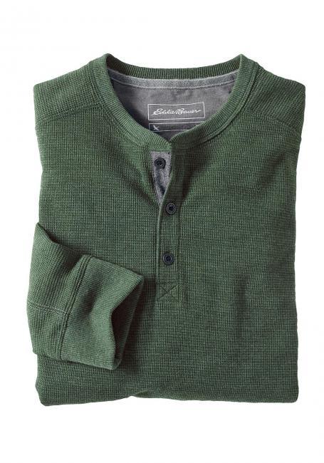 Henleyshirt langarm