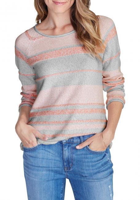 Pullover geringelt