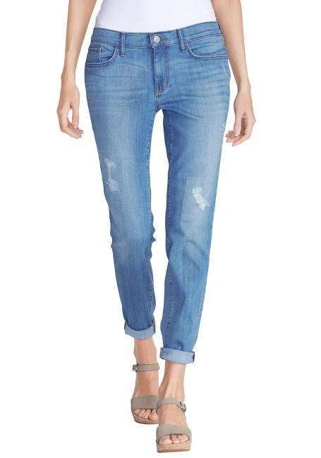 Boyfriend Slim Jeans - destroyed