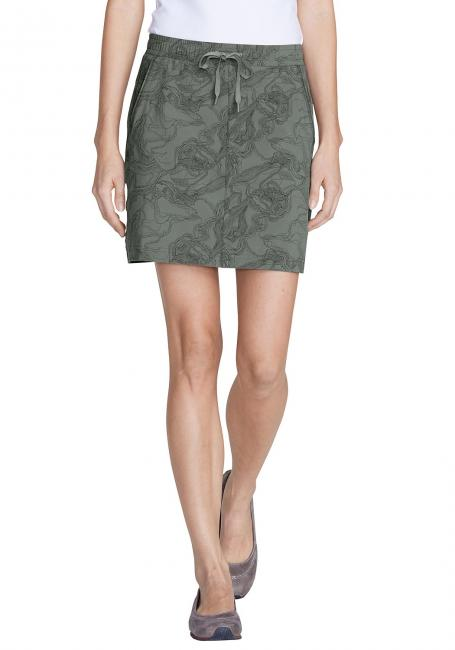 Horizon Pull On-Skort gemustert