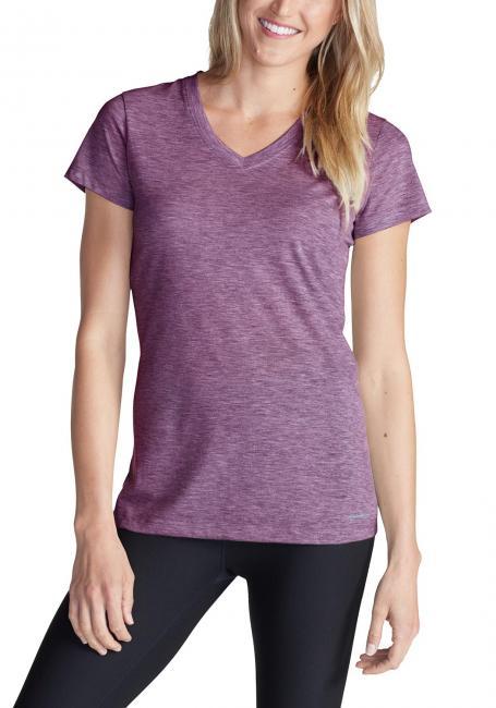 Resolution T-Shirt mit V-Ausschnitt - Uni