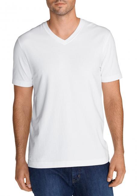 Lookout T-Shirt Kurzarm mit V-Ausschnitt