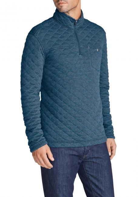 Sweatshirt mit Rautensteppung