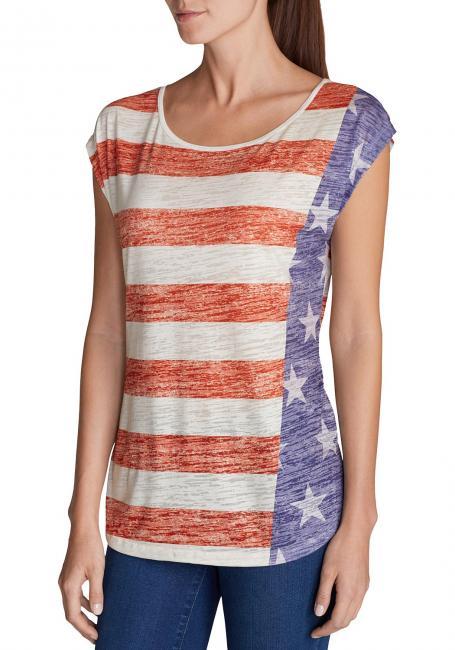 T-Shirt bedruckt Flagge