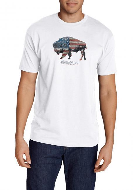 T-Shirt Buffalo-Flagge