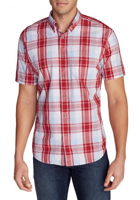 Kurzarm Popeline-Hemd