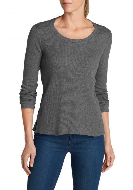 Stine´s Favorite Thermo-Shirt - Rundhalsausschnitt - Uni