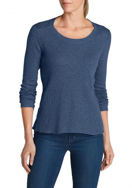 Stine's Favorite Waffel-Shirt - Rundhalsausschnitt - Uni